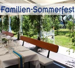 Alles aus einer Hand für Familienfeier, Taufe im Garten von Zeltverleih Starnberg, Partyzelt, Catering, Zeltausstattung, Livemusik