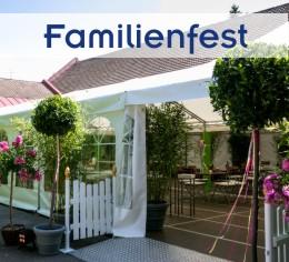 Alles aus einer Hand für Familienfeier im Garten von Zeltverleih Starnberg, Partyzelt, Catering, Zeltausstattung, Livemusik